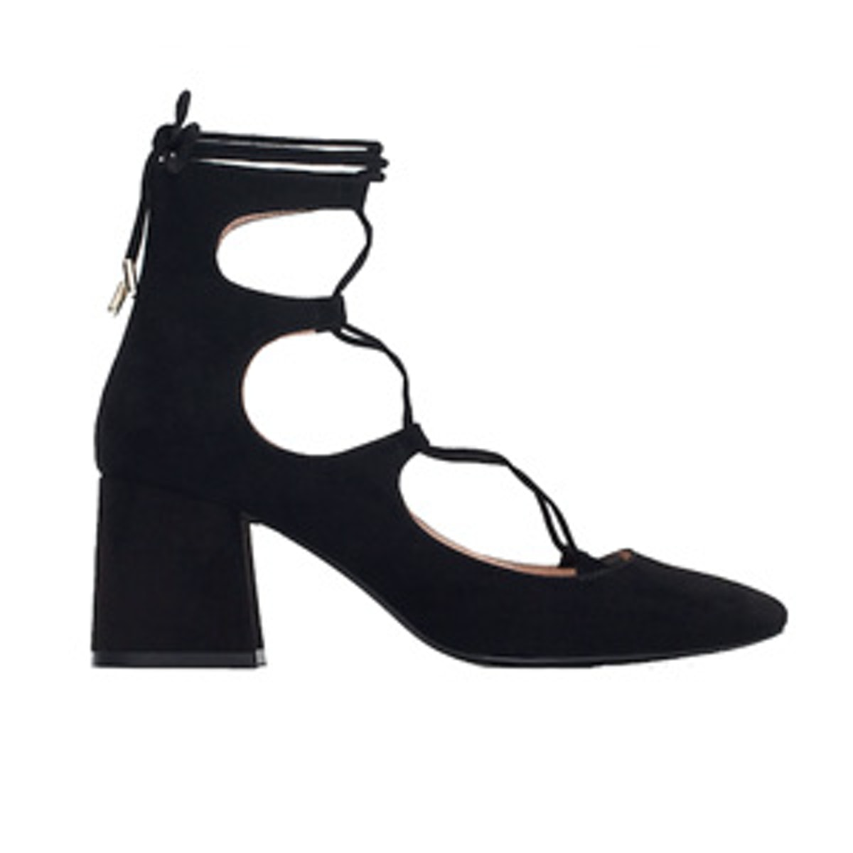 Lace-Up High Heel Shoes