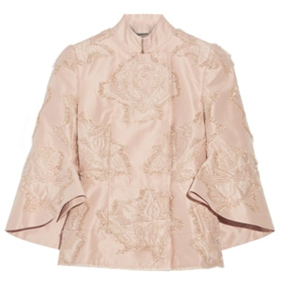 Fil Coupé Silk-Blend Faille Jacket
