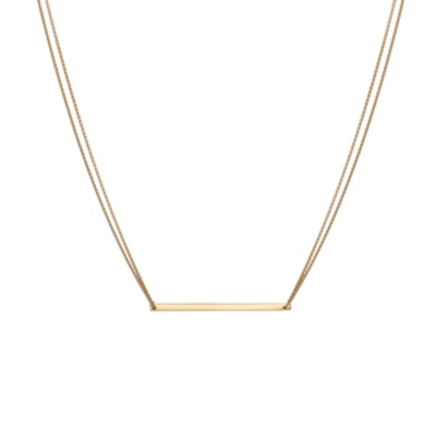 Gold-Bar Necklace