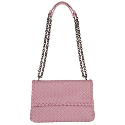 Olimpia Intrecciato Leather Shoulder Bag