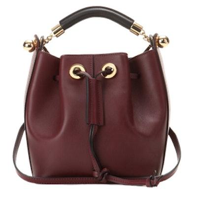 Gala Small Leather Bucket Bag