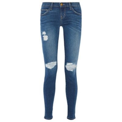 The Ankle Skinny Distressed Jean
