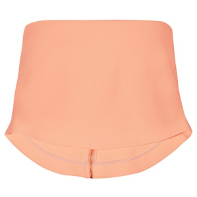 Addilyn Cropped Stretch-Crepe Top