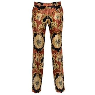 Viscose Brocade Pants