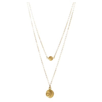 Piastra Gold Plated Necklace