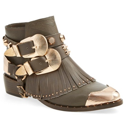 Santos Pointy Toe Ankle Boot