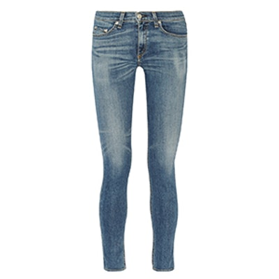 The Skinny Mid-Rise Jeans