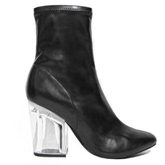 Leather Figment Boots