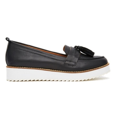 Launch Black Contrast Loafer