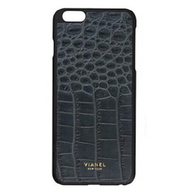 Croc-Embossed iPhone Case