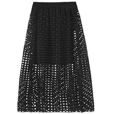 Jolane Guipure Lace Skirt