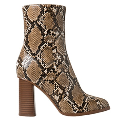 Snake Finish Booties