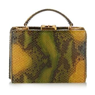 Grace Python Shoulder Bag