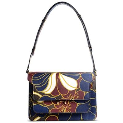 Medium Leather Printed Handbag