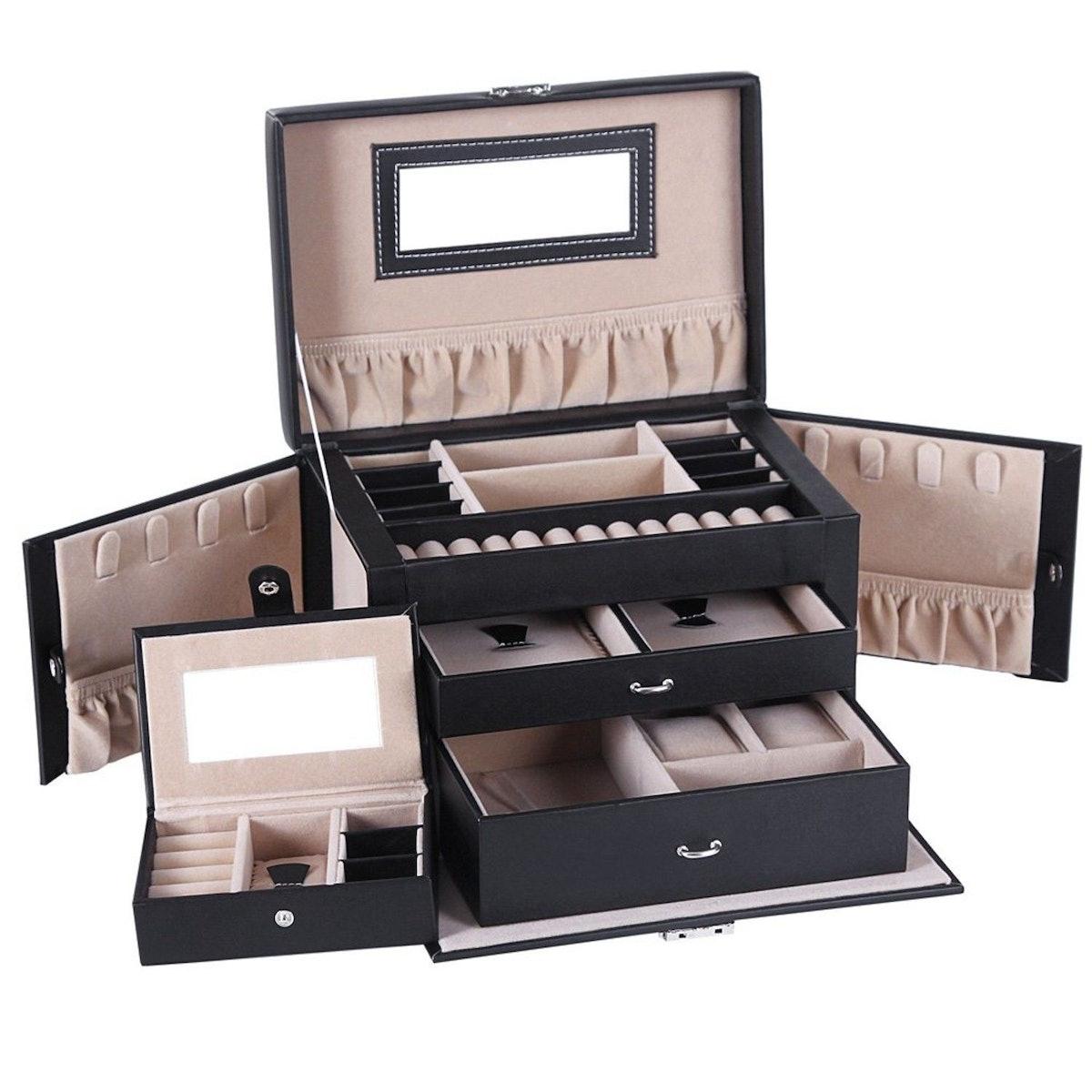Organized Jewelry Box
