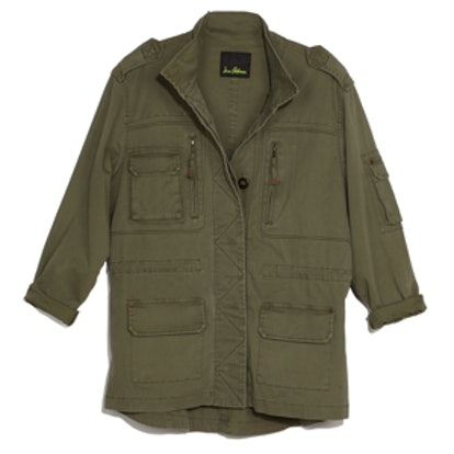 Brushed Stretch Twill Jacket