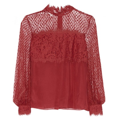 Constance Point D'Esprit Blouse
