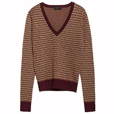 Micro Jacquard Sweater