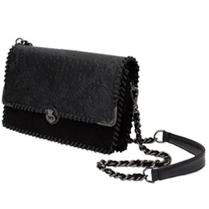 Leather Details Messenger Bag