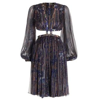 Esplanade Rivet Paisley Dress