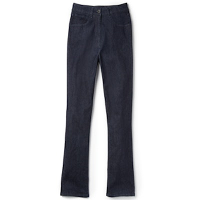 The Principle High Rise Crop Micro Flare Jeans