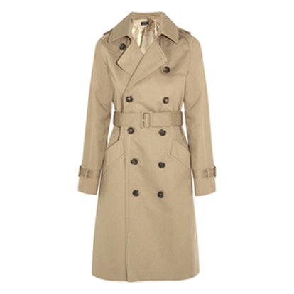 Vendee Cotton-Twill Trench Coat