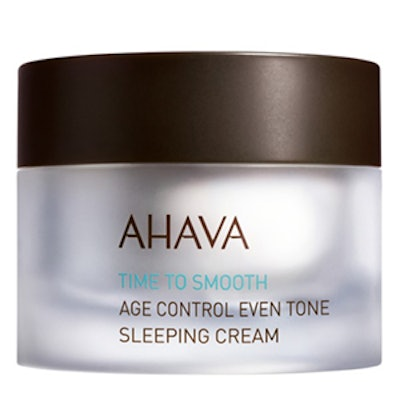 """Time to Smooth"" Age Control Even Tone Sleeping Cream"