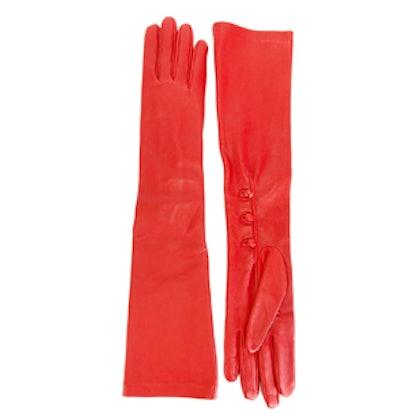 Long Lambskin Gloves