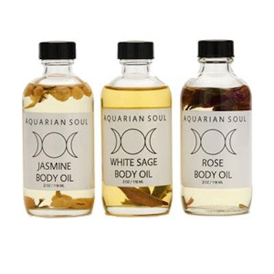 Organic Body Oil Trio