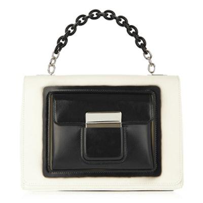 Bal58 Leather Shoulder Bag