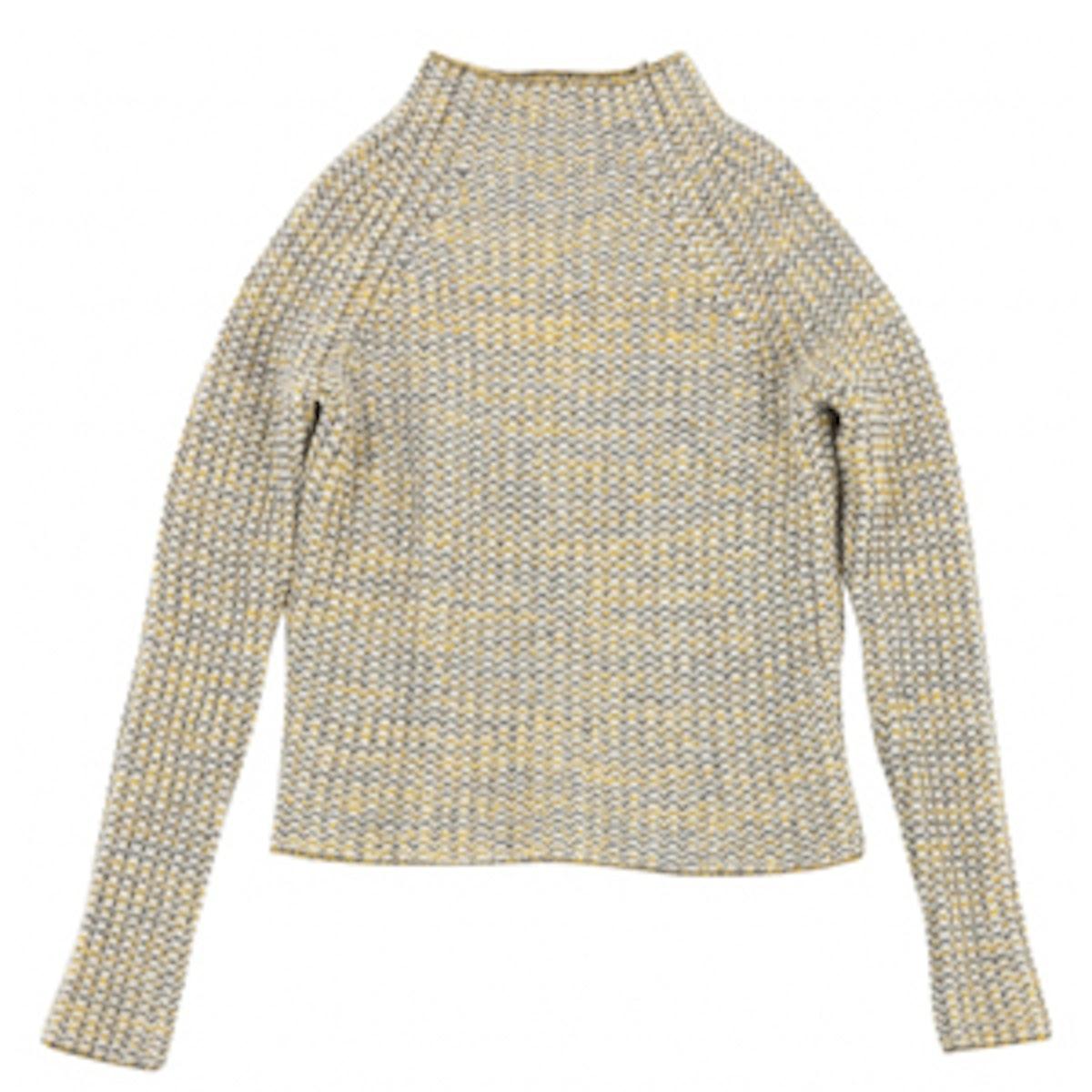 Yellow Wool Knitwear