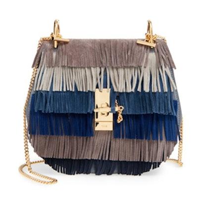 Fringe Suede Crossbody Bag