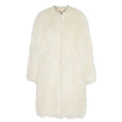 Oversized Faux Fur Coat