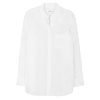 Margaux White Button-Up