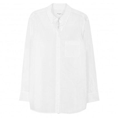 Margaux White Button-Up