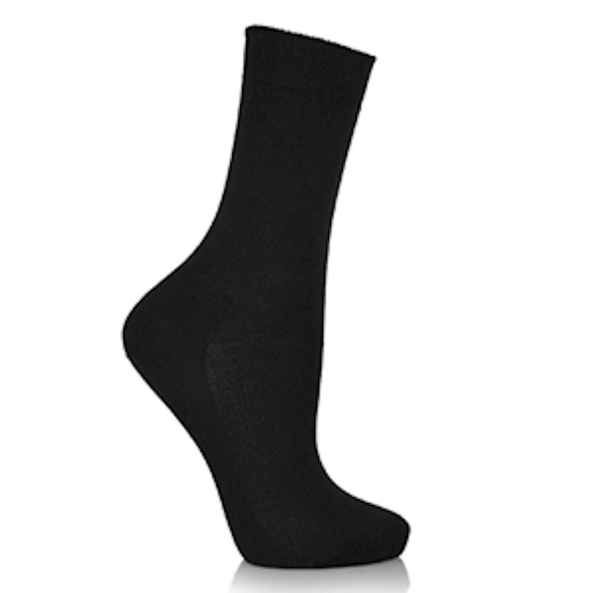 Cashmere-Blend Socks