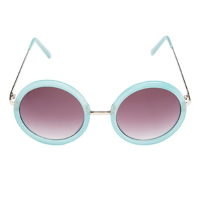 Twiggy Round Sunglasses