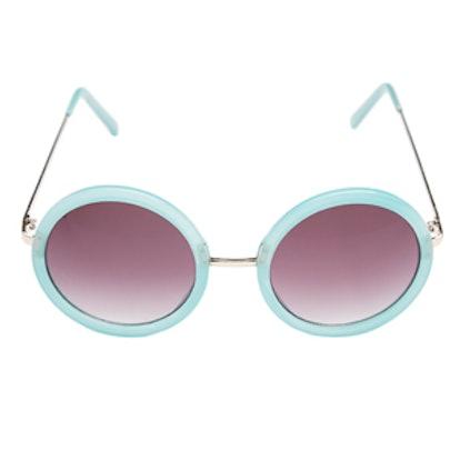 Twiggy Round Sunglasses