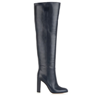 Mattie Over-The-Knee Leather Boots
