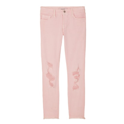 Low Rise Cropped Skinny