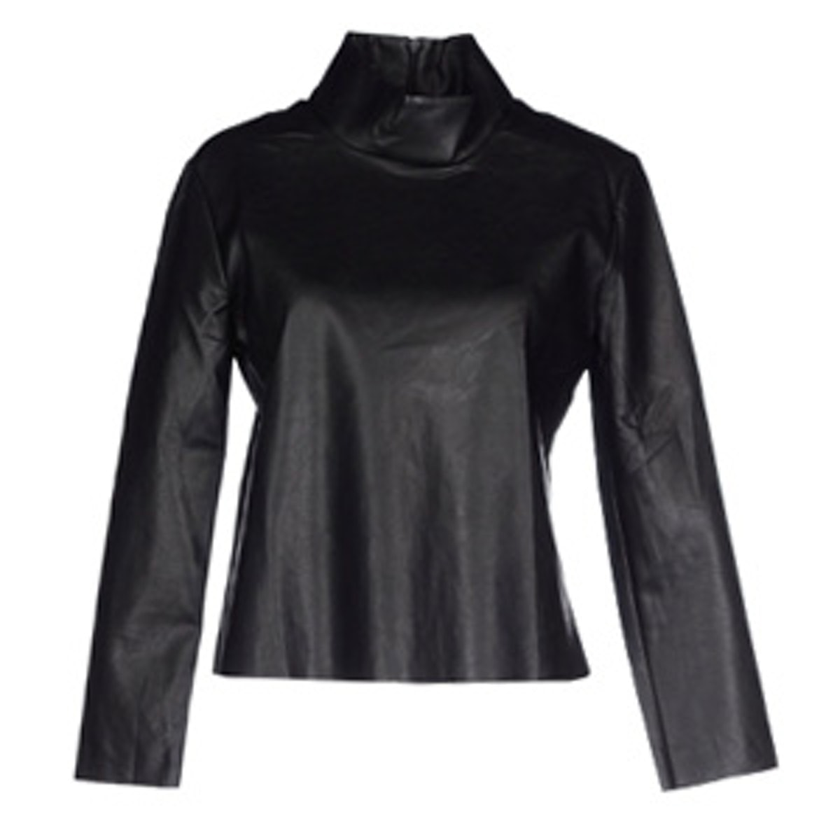 Leather Blouse