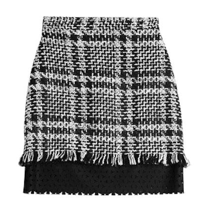 Mini Skirt with Wool
