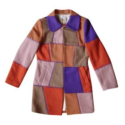 Multicolor Wool Coat