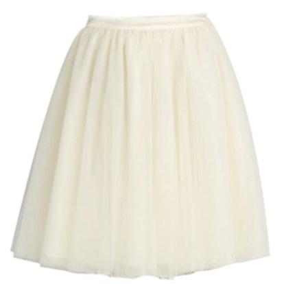 Tulle Skirt In Vanilla