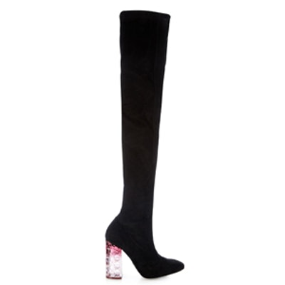 Carnaby Degradé-Heel Suede Over-The-Knee Boots