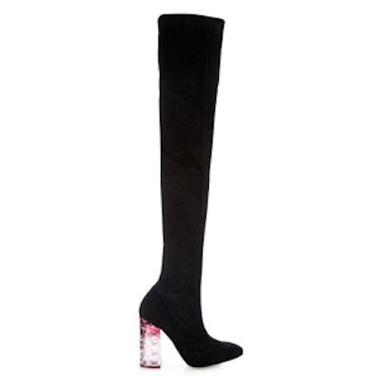 Carnaby Degradé-Heel Suede Over-The-Knee Boots