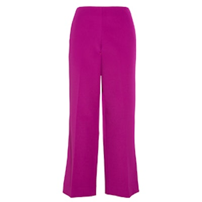 Crepe Wide Leg Pants