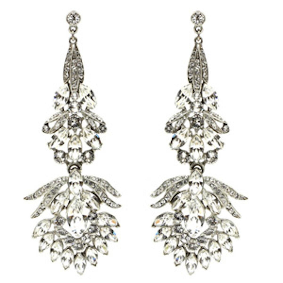 Floral Chandelier Drop Earrings