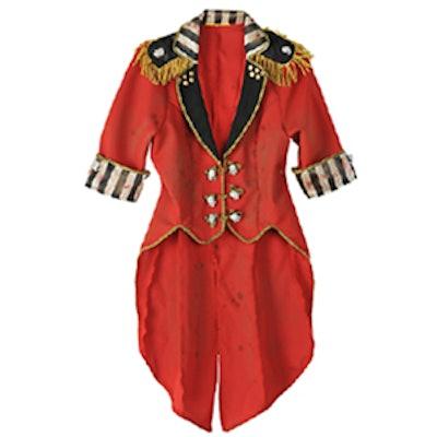 Cropped Red Ringmaster Jacket