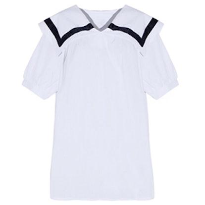 White Sailor Top